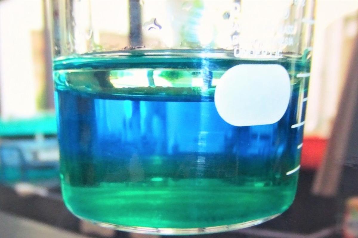 濃い塩水はどこへ行く? ~コップの中にグラデーションをつくろう~ (提供:聖セシリア女子中学校)